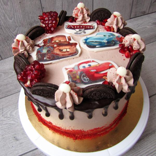 Торт Тачки Молнія Маквін (Маккуін) | Торт на заказ | Черкассы ... | 600x600