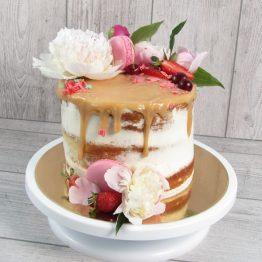 торт naked cake