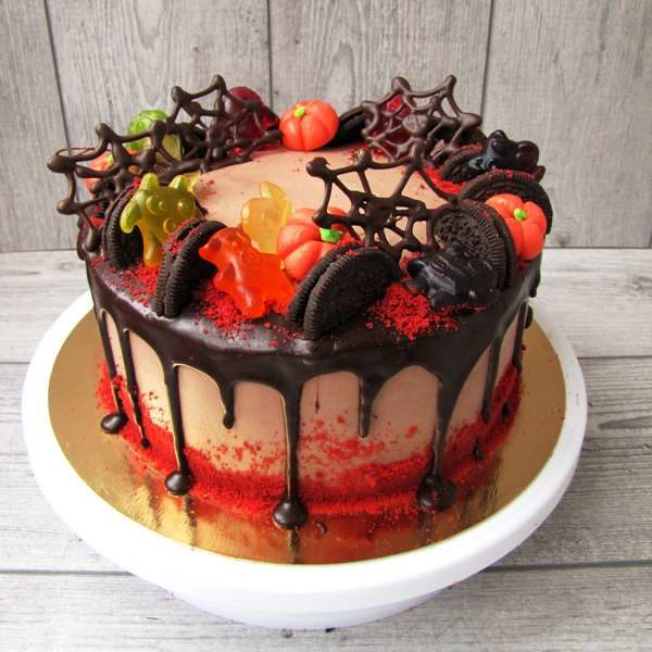 торт на halloween