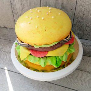 торт бургер