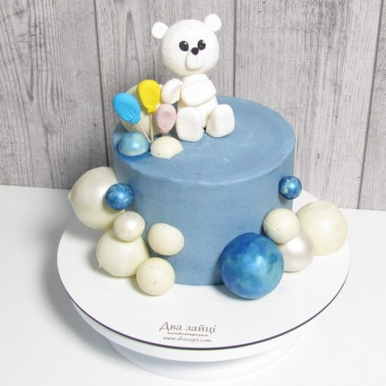 Торт Ведмедик з кульками