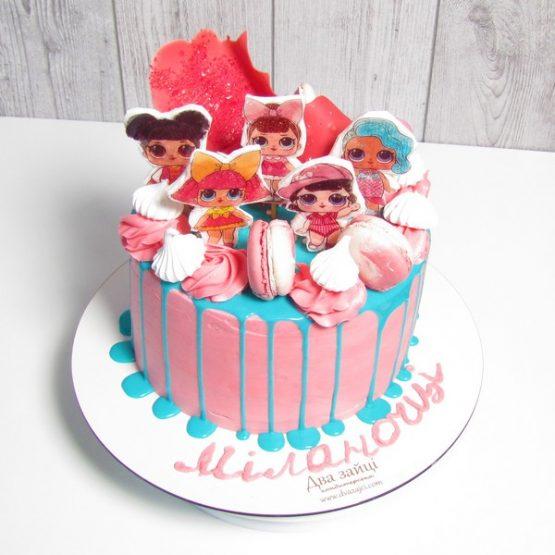 Торт 2 кг. Ляльки L.O.L.
