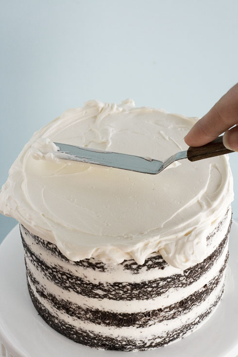 фінішний шар торта