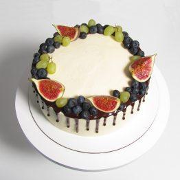 Торт 2 кг. П'яна вишня