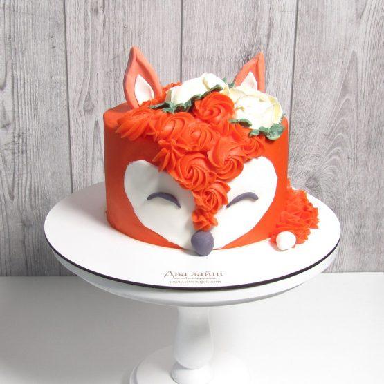 торт лисиця