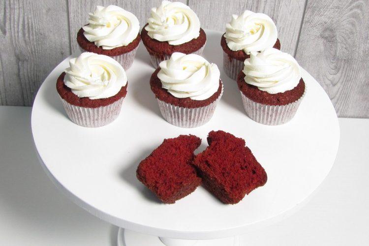капкейки red velvet