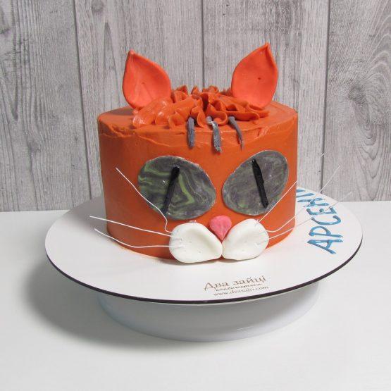 торт рудий кіт