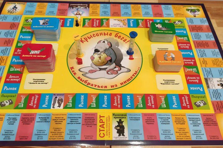 Бизнес-игра Крысиные бега