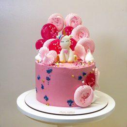 торт з єдиноріжкою
