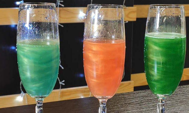 блестящие напитки