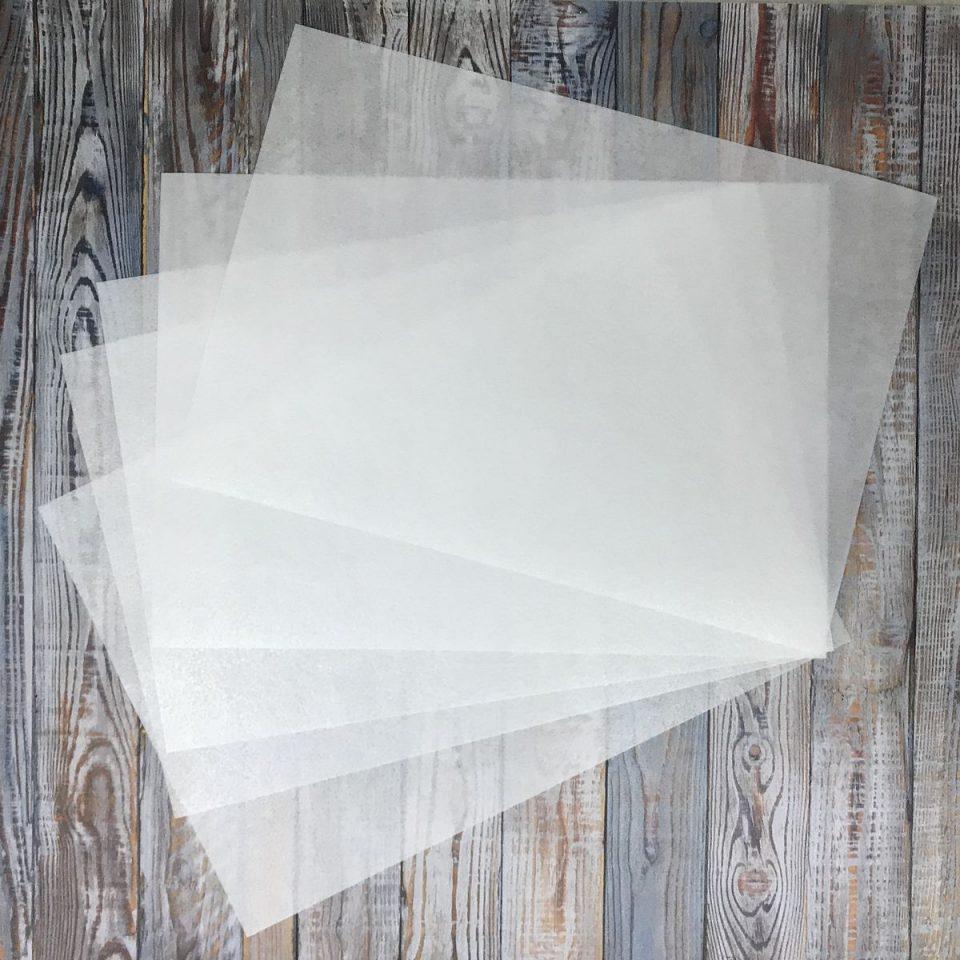 виды вафельной бумаги