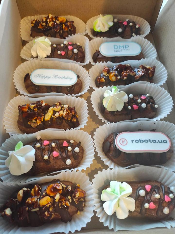 еклери шоколадні