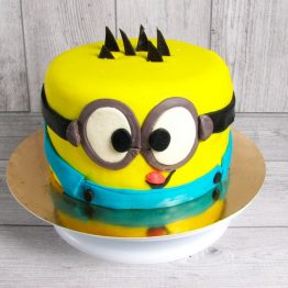 торт мастичний посіпака