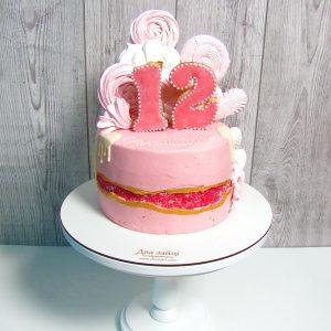 торт з бізе