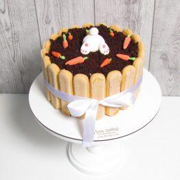 торт зайка