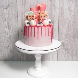 торт ляльки LOL