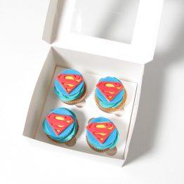 капкейк Superman