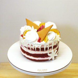 Торт новорічний