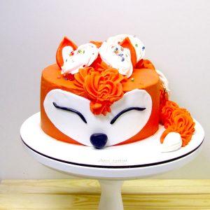 торт лисица